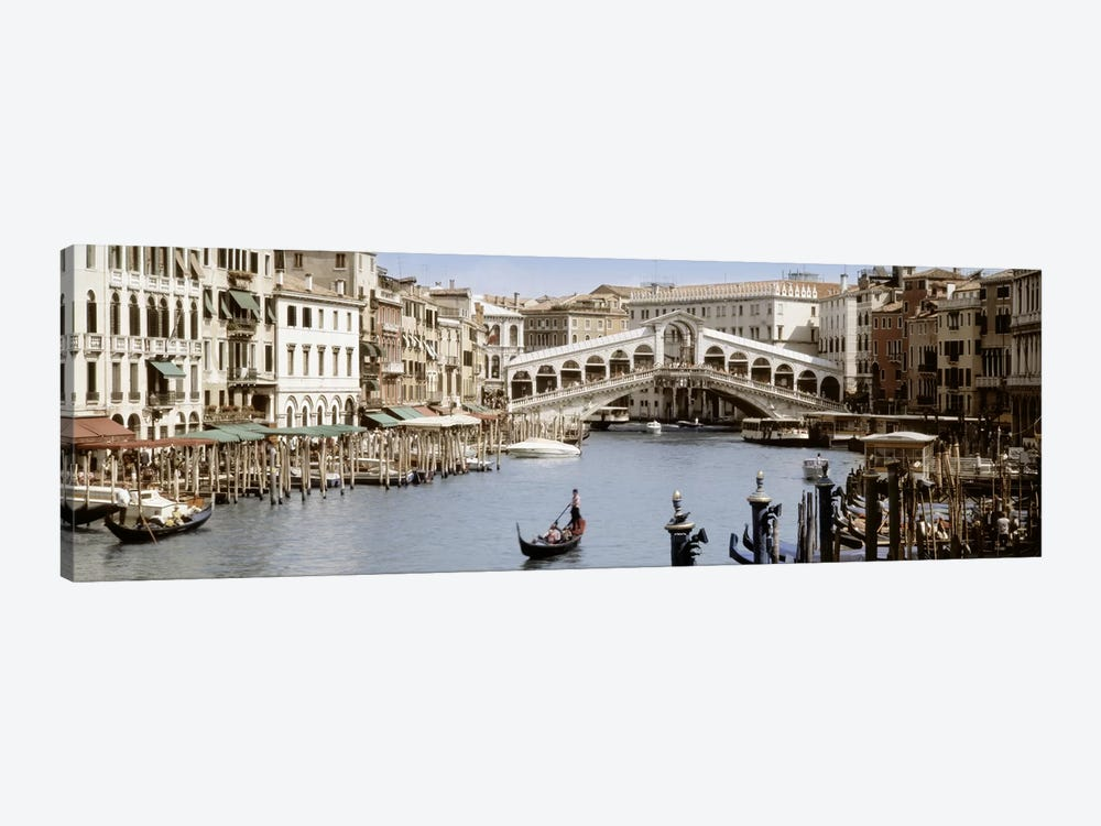 Rialto Bridge, Venice, Veneto, Italy by Panoramic Images 1-piece Canvas Print