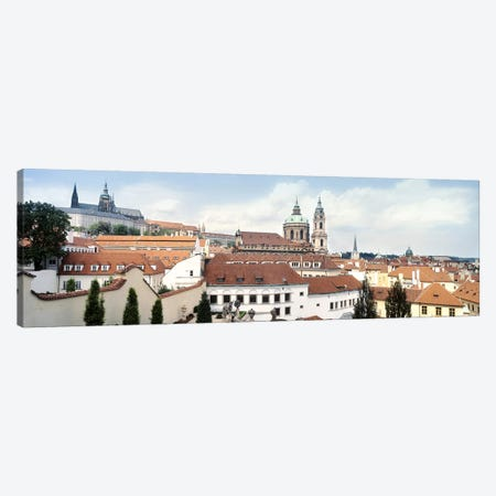 Church in a city, St. Nicholas Church, Mala Strana, Prague, Czech Republic Canvas Print #PIM5038} by Panoramic Images Canvas Art Print