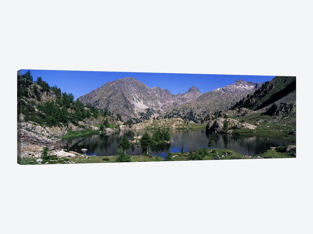 Mountain Landscape, Mercantour National Park, France by Panoramic Images 1-piece Canvas Wall Art