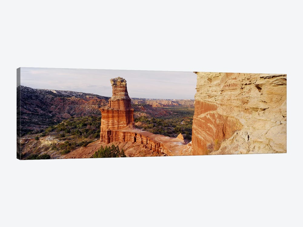 Lighthouse Rock, Palo Duro Canyon State Park, Texas, USA by Panoramic Images 1-piece Art Print