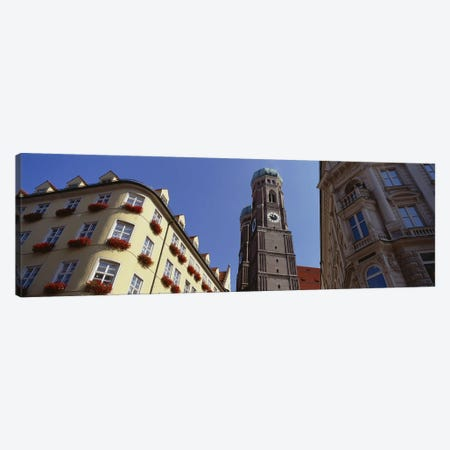 Low Angle View Of A Cathedral, Frauenkirche, Munich, Germany Canvas Print #PIM5072} by Panoramic Images Art Print