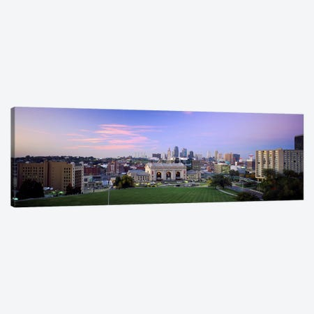 High Angle View of A CityKansas City, Missouri, USA Canvas Print #PIM5083} by Panoramic Images Canvas Art