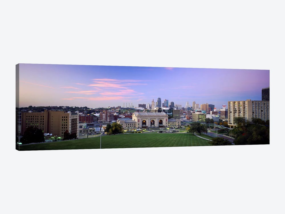 High Angle View of A CityKansas City, Missouri, USA by Panoramic Images 1-piece Canvas Art Print