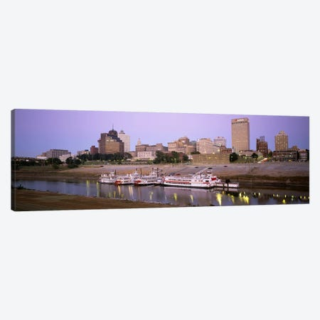 Buildings At The waterfront, Memphis, Tennessee, USA Canvas Print #PIM5086} by Panoramic Images Art Print