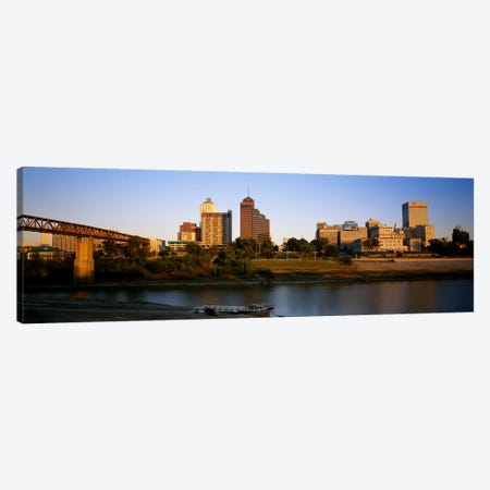 Buildings At The waterfront, Memphis, Tennessee, USA Canvas Print #PIM5088} by Panoramic Images Canvas Artwork