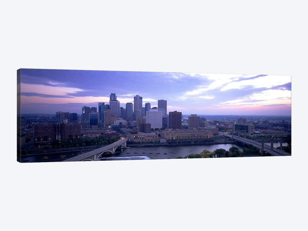 Buildings In A CityMinneapolis, Minnesota, USA by Panoramic Images 1-piece Canvas Print
