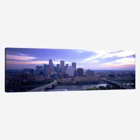 Buildings In A CityMinneapolis, Minnesota, USA Canvas Print #PIM5090} by Panoramic Images Canvas Art Print