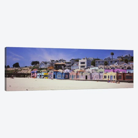 Venetian Court, Capitola, Santa Cruz County, California, USA Canvas Print #PIM5093} by Panoramic Images Art Print