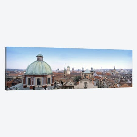 Church in a city, Prague, Czech Republic Canvas Print #PIM5108} by Panoramic Images Canvas Print