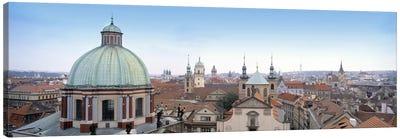 Church in a city, Prague, Czech Republic Canvas Print #PIM5108