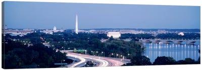 Evening Washington DC Canvas Print #PIM511