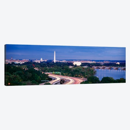 High angle view of a cityscape, Washington DC, USA Canvas Print #PIM512} by Panoramic Images Canvas Art