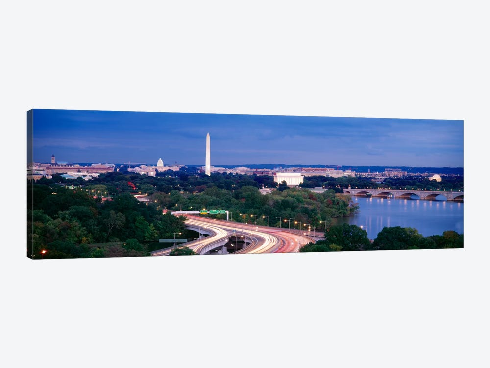High angle view of a cityscape, Washington DC, USA 1-piece Art Print