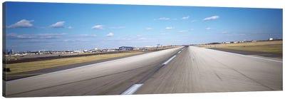 Runway at an airport, Philadelphia Airport, New York State, USA Canvas Print #PIM5145