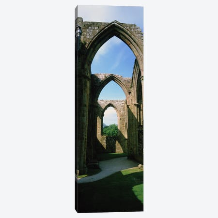 Low angle view of an archway, Bolton Abbey, Yorkshire, England Canvas Print #PIM5147} by Panoramic Images Canvas Artwork