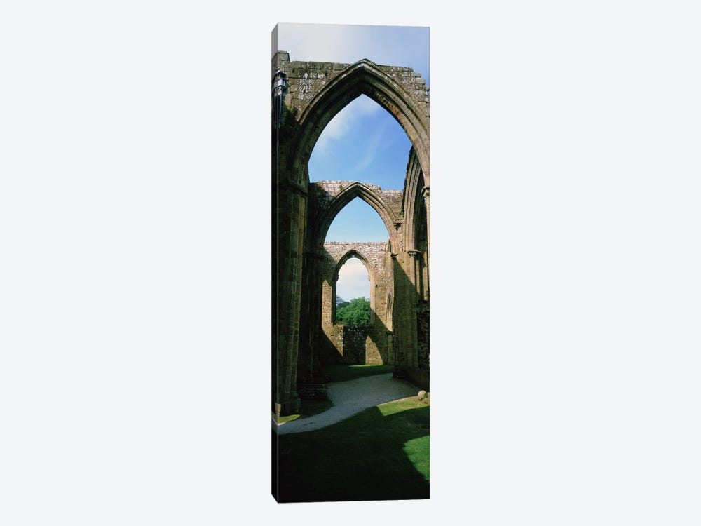 Low angle view of an archway, Bolton Abbey, Yorkshire, England by Panoramic Images 1-piece Canvas Art