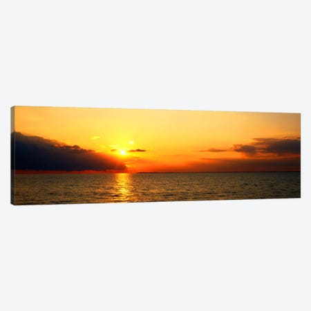 Lake Erie NY USA Canvas Print #PIM514} by Panoramic Images Canvas Art Print