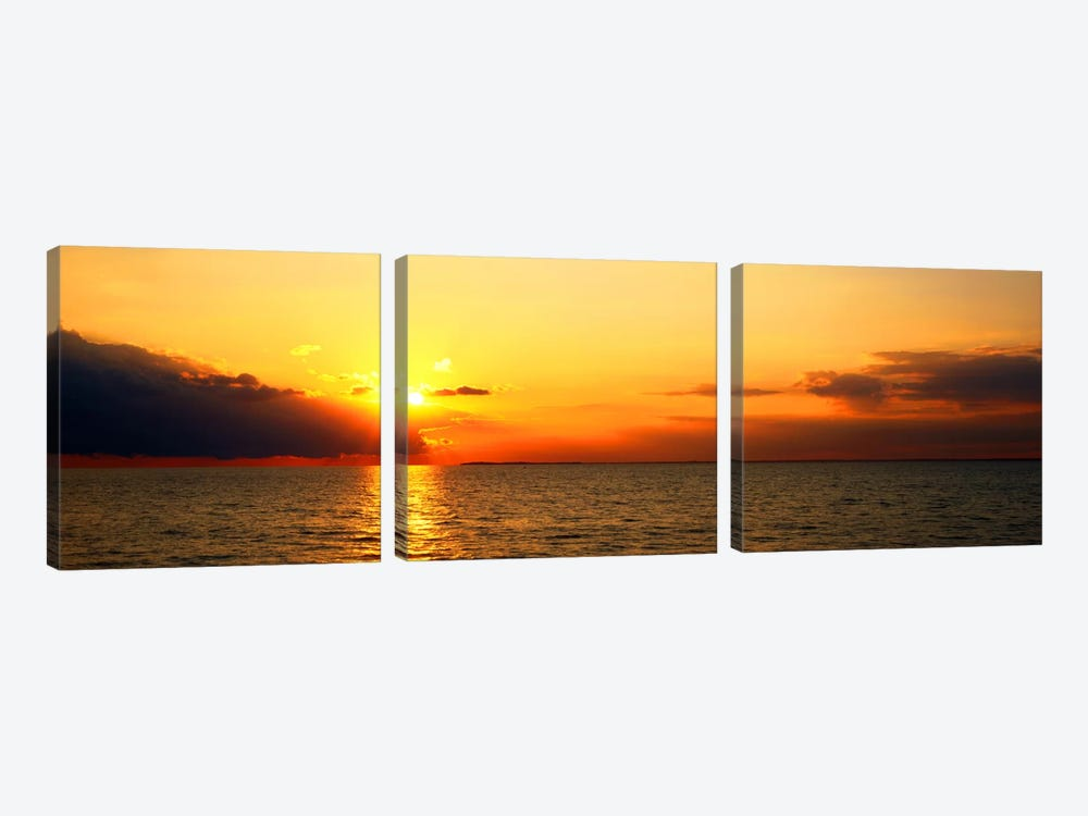 Lake Erie NY USA by Panoramic Images 3-piece Canvas Print