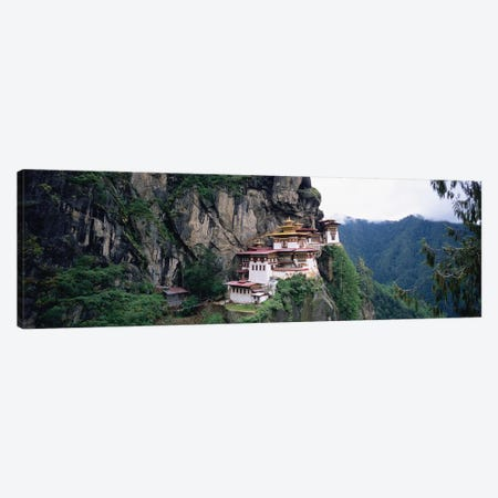 Taktsang Palphug Monastery (Tiger's Nest), Paro Valley, Kingdom Of Bhutan Canvas Print #PIM5155} by Panoramic Images Canvas Print