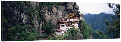 Taktsang Palphug Monastery (Tiger's Nest), Paro Valley, Kingdom Of Bhutan Canvas Print #PIM5155