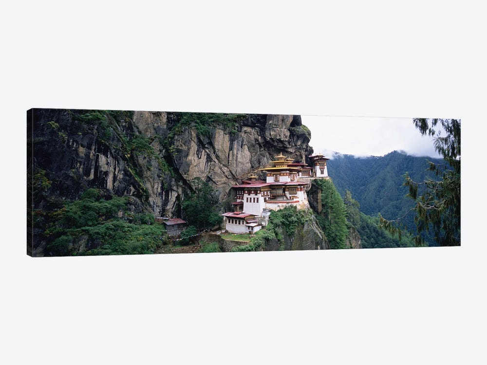 Taktsang Palphug Monastery (Tiger's Nest), Paro Valley, Kingdom Of Bhutan by Panoramic Images 1-piece Canvas Print