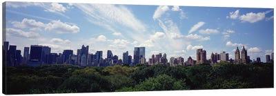 Skyscrapers In A City, Manhattan, NYC, New York City, New York State, USA Canvas Print #PIM5160