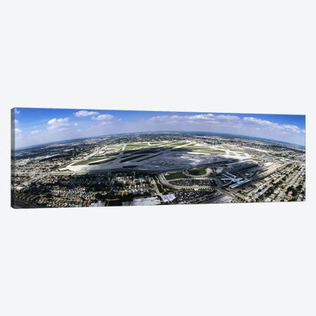Aerial view of an airport, Midway Airport, Chicago, Illinois, USA Canvas Print #PIM5174} by Panoramic Images Art Print