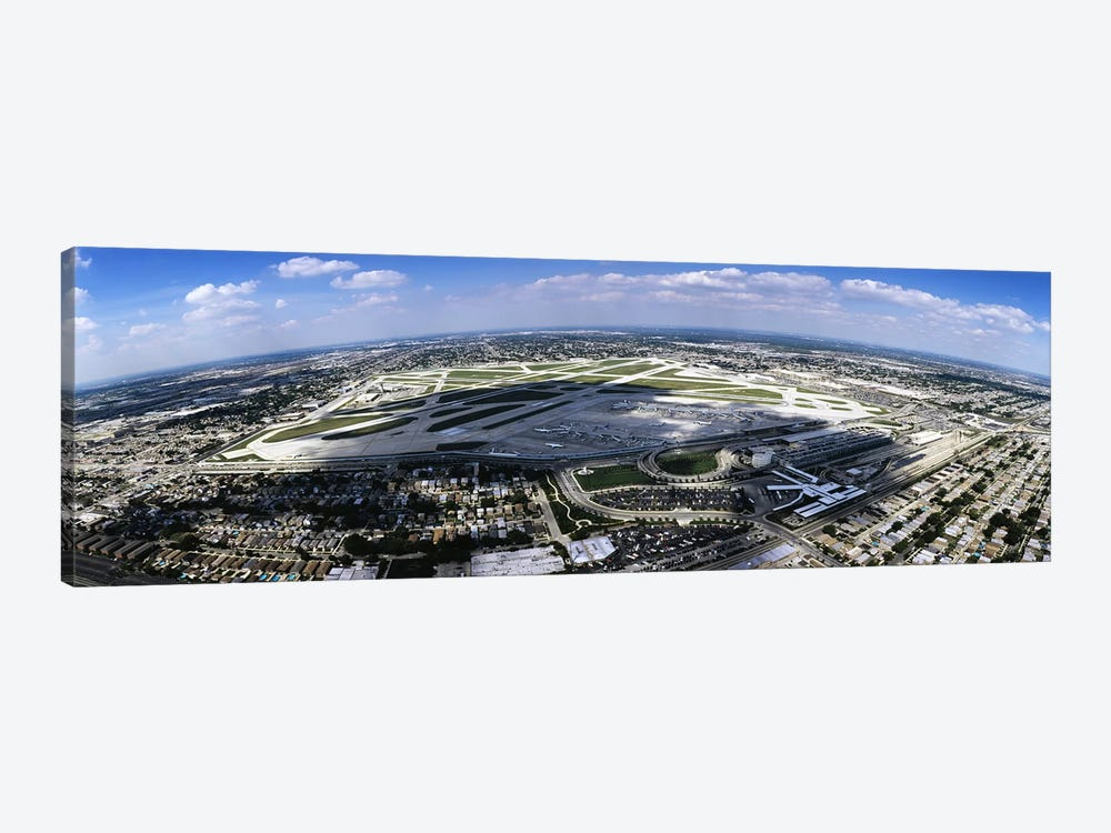 Aerial view of an airport, Midway Airport, Chicago, Illinois, USA by Panoramic Images 1-piece Canvas Art