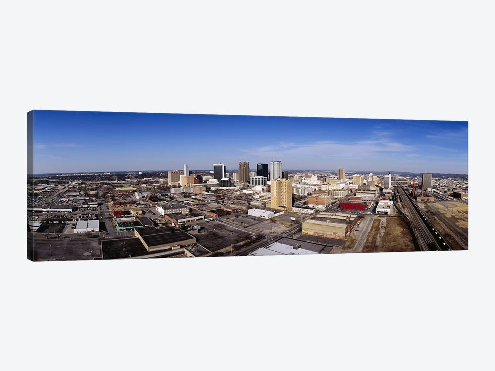 Aerial view of a cityBirmingham, Alabama, USA by Panoramic Images 1-piece Canvas Wall Art
