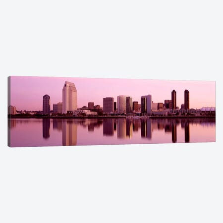 Skyline San Diego CA Canvas Print #PIM518} by Panoramic Images Canvas Artwork