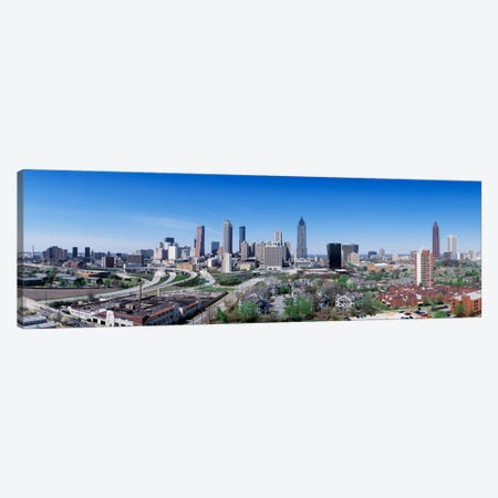 USA, Georgia, Atlanta, skyline Canvas Print #PIM519} by Panoramic Images Canvas Wall Art