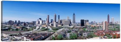 USA, Georgia, Atlanta, skyline Canvas Art Print