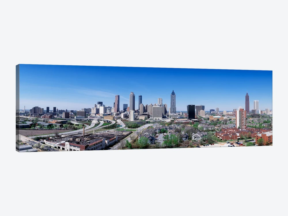 USA, Georgia, Atlanta, skyline 1-piece Canvas Artwork