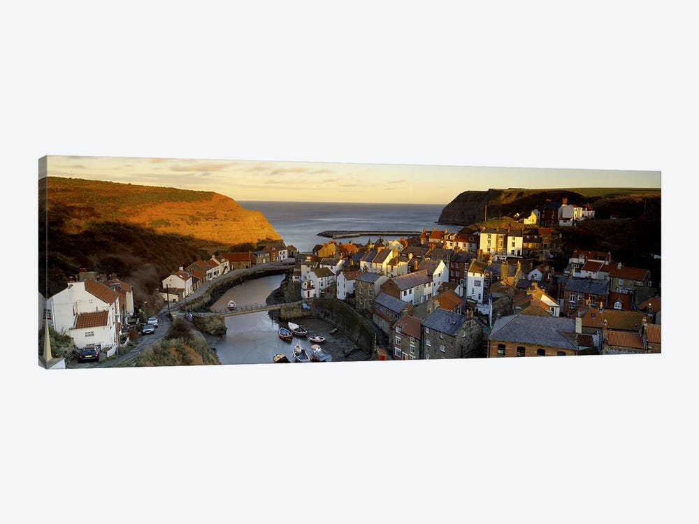 Coastal Landscape, Staithes, North Yorkshire, England, United Kingdom by Panoramic Images 1-piece Canvas Art