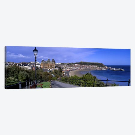 South Bay, Scarborough, North Yorkshire, England, United Kingdom Canvas Print #PIM5235} by Panoramic Images Canvas Artwork