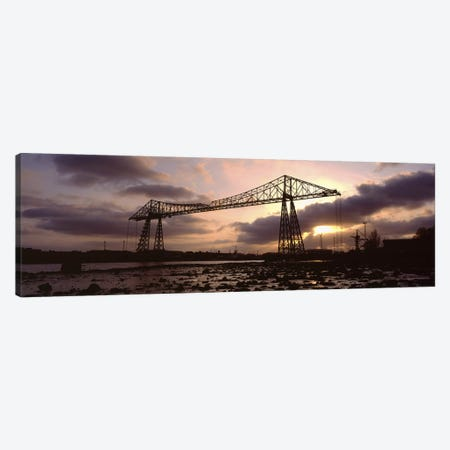 Tees Transporter Bridge, North Yorkshire, England, United Kingdom Canvas Print #PIM5236} by Panoramic Images Canvas Wall Art