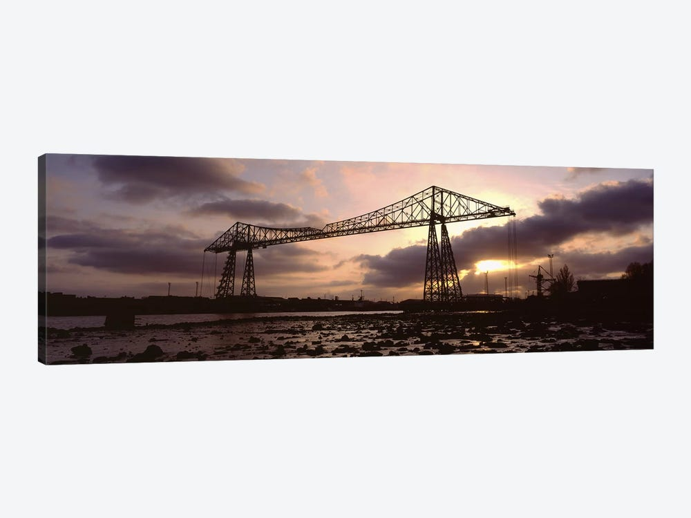 Tees Transporter Bridge, North Yorkshire, England, United Kingdom by Panoramic Images 1-piece Canvas Art