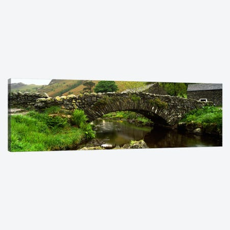 Packhorse Bridge, Watendlath, Cumbria, England, United Kingdom Canvas Print #PIM5243} by Panoramic Images Canvas Art