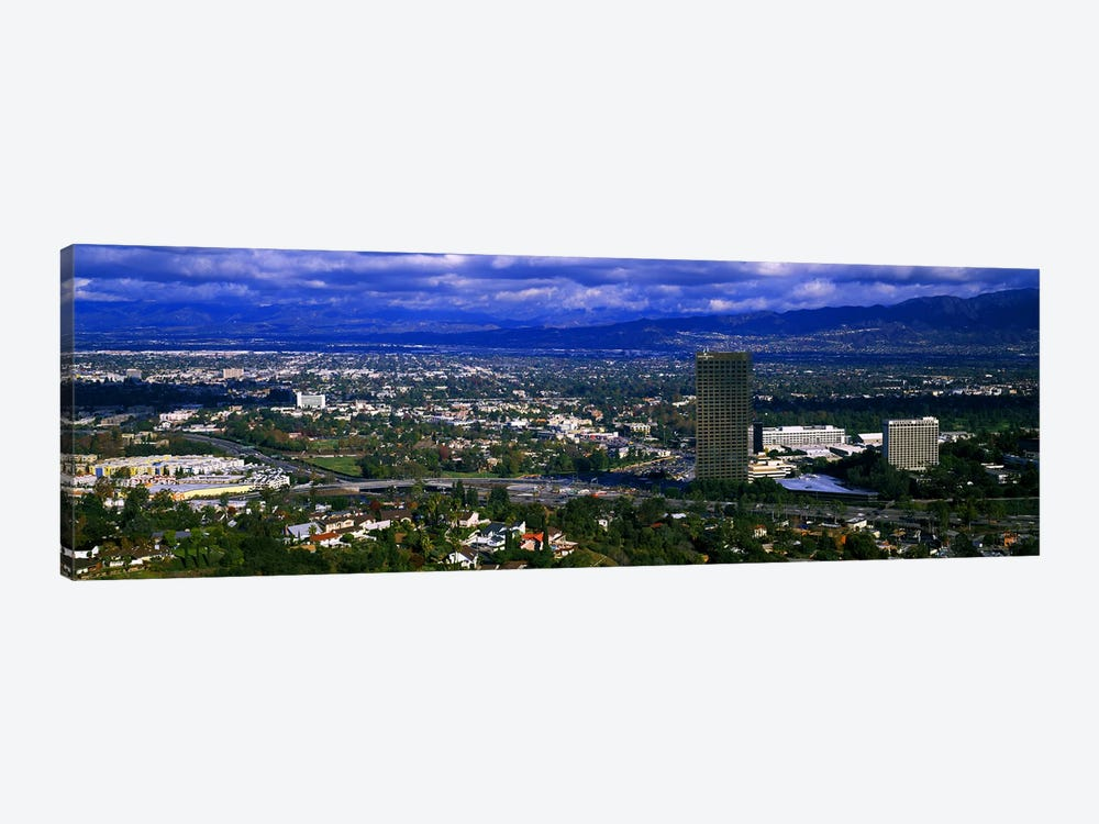 High angle view of a city, Studio City, San Fernando Valley, Los Angeles, California, USA #2 by Panoramic Images 1-piece Canvas Art