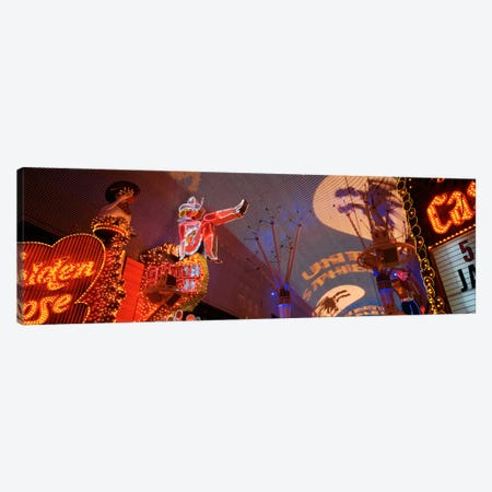 Fremont Experience Las Vegas NV USA Canvas Print #PIM525} by Panoramic Images Canvas Wall Art