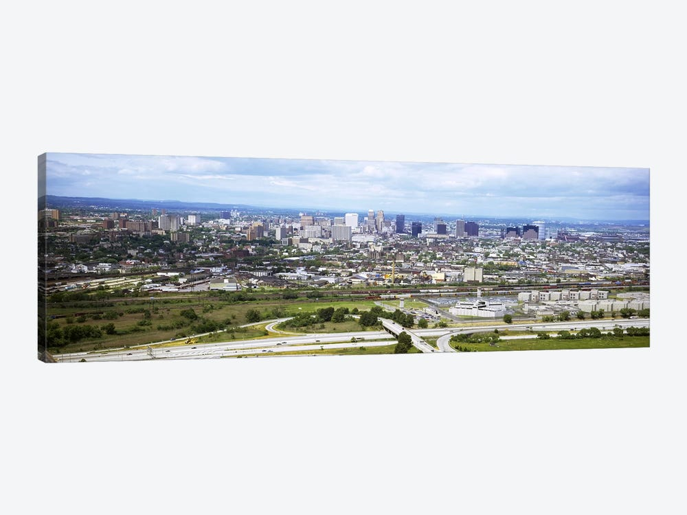 Aerial view of a city, Newark, New Jersey, USA 1-piece Art Print