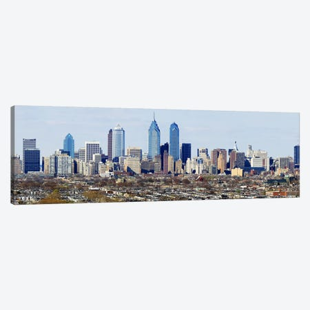 Skyscrapers in a city, Philadelphia, Pennsylvania, USA #4 Canvas Print #PIM5363} by Panoramic Images Canvas Art Print