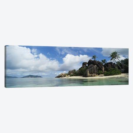 Anse Source d'Argent, La Digue Island, Republic Of Seychelles Canvas Print #PIM5390} by Panoramic Images Canvas Artwork