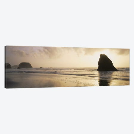Picturesque View Of The Pacific Ocean, Mendocino County, California, USA Canvas Print #PIM5395} by Panoramic Images Art Print
