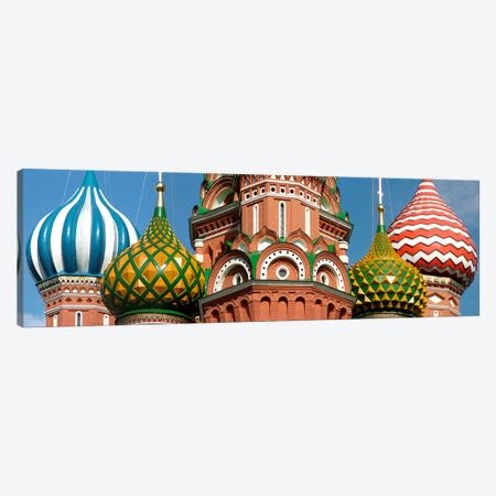 Mid section view of a cathedral, St. Basil's Cathedral, Red Square, Moscow, Russia Canvas Print #PIM5399} by Panoramic Images Canvas Art