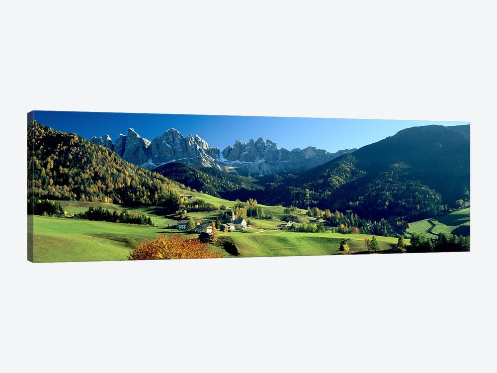 Santa Maddalena, Val di Funes, South Tyrol, Trentino-Alto Adige, Italy by Panoramic Images 1-piece Canvas Art
