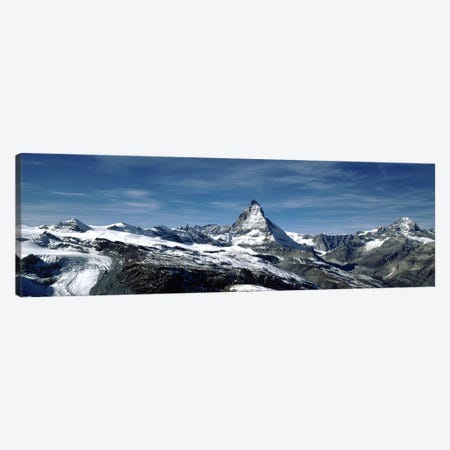 Matterhorn, Valais, Switzerland Canvas Print #PIM5407} by Panoramic Images Canvas Print
