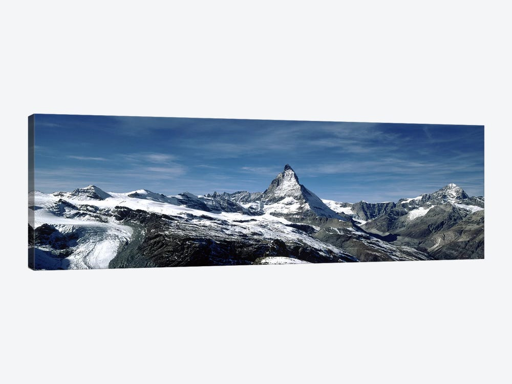 Matterhorn, Valais, Switzerland by Panoramic Images 1-piece Canvas Wall Art