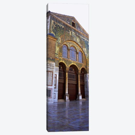 Mosaic facade of a mosque, Umayyad Mosque, Damascus, Syria Canvas Print #PIM5414} by Panoramic Images Canvas Wall Art
