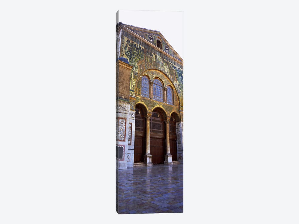 Mosaic facade of a mosque, Umayyad Mosque, Damascus, Syria 1-piece Canvas Wall Art